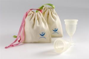 MoonCup para recolectar la menstruación