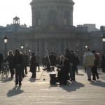 Pont des Arts en París 6