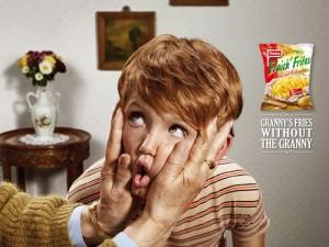 Findus. Las patatas fritas de la abuela sin la abuela 2